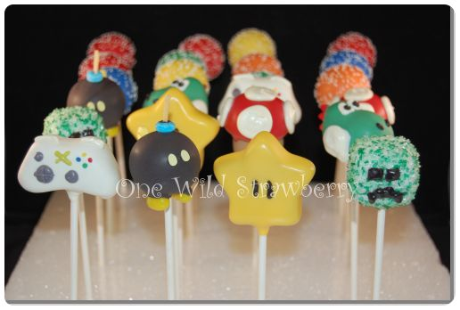 Top Video Game Cake Pop Ideas 516 x 348 · 27 kB · jpeg