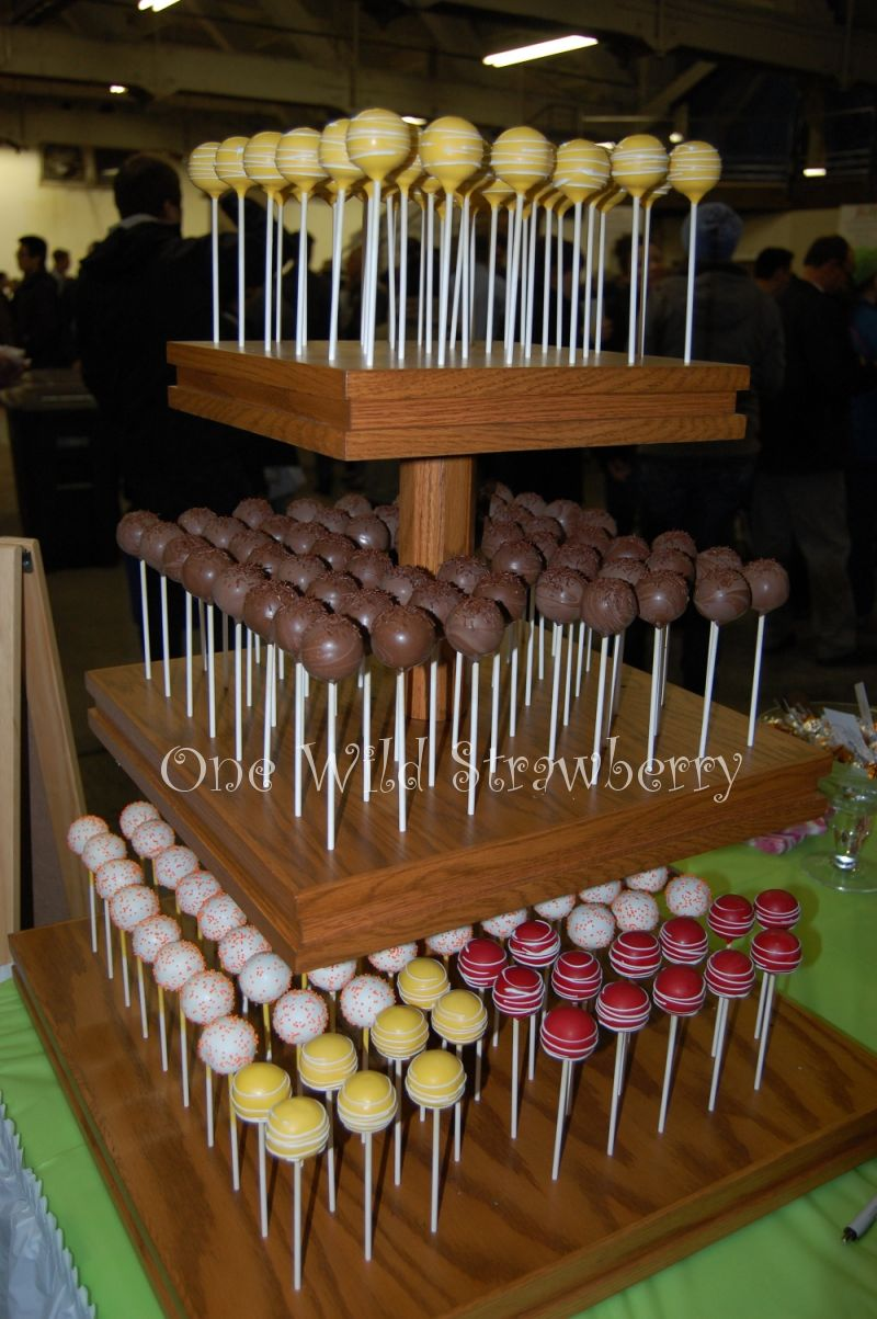 Cake Pop Wedding Cake Stand
